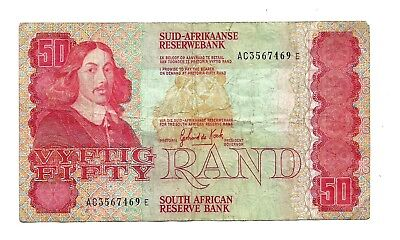 South Africa (P122) 50 Rand 1984
