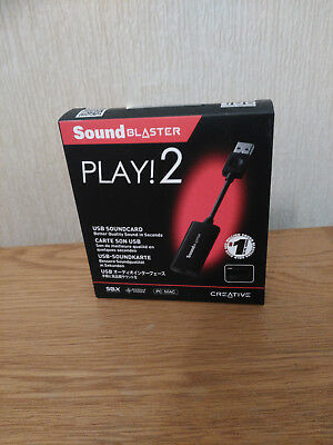 Creative Sound Blaster Play! 2 USB Sound Card With SBX