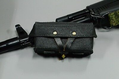 Authentic Black Soviet army, SKS artificial leather (Kirsei) ammo pouch