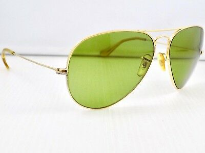 70's Ray Ban Aviator Large Metal II 62mm, L2849, RB-3 Lens & Case