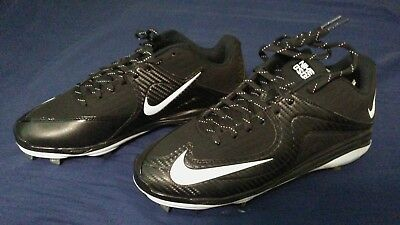 nike air mvp pro 2 metal scarpe da baseball nero 684685 010 mens dimensioni