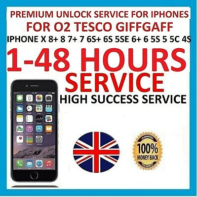 O2 Tesco UK factory unlock code for iphone 7+ 7 6s+ 6s 6+ 6 5se 5s 5 5c