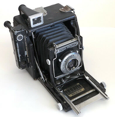 Miniature Speed Graphic 2 ¼ x 3 ¼ Camera w/Optar f4.5/101mm Lens-Collectible!!
