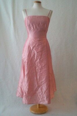 Vintage pink fairy party evening festival costume dress Size 6