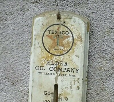Texaco Thermometer Oil Can Porcelain Sign Globe Wow 3 Diget### Caro , Mich.