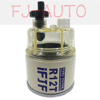 FJF Parts R12T for Fuel Filter Water Separator 120AT NPT ZG1/4-19  BRAND NEW