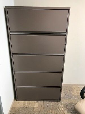 Lot Of 20 Herman Miller 5 Drawer Lateral File Cabinets
