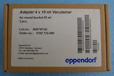 Eppendorf 022639269 Centrifuge Tube Adapter for Rotor A-4-38,, 4-Place 2/pk