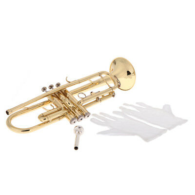 Student Trumpet - Beginners Trumpet Ideal for School Band with case
