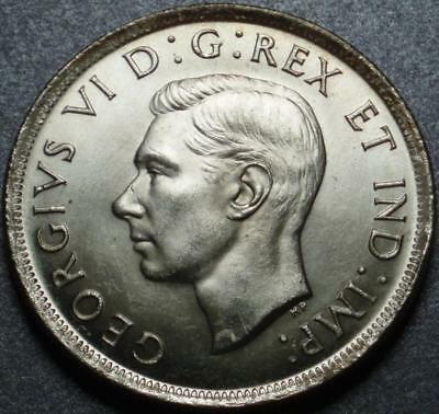 "1939 CANADA Only the 2nd ""COMMEMORATIVE"" SILVER DOLLAR, Royal Visit & PARLIAMENT"