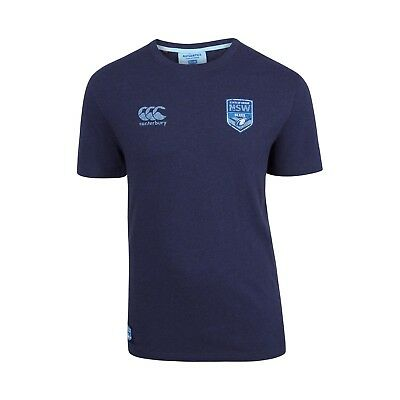 New South Wales NSW Blues CCC 2018 State of Origin Worn In T Shirt Size S-6XL!