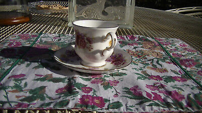 Vintage Queen Anne Tea Cup and Saucer, Made in England