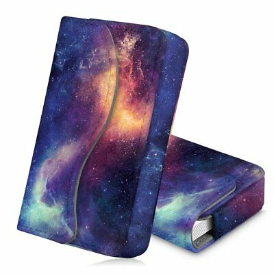 Business Card Holder Name Card Wallet Case Organizer Magnetic Closure- Galaxy