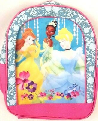 "Disney's Princess Girl's Backpack 9""x11""x4"" Kid's Child's Youth Lenticular"