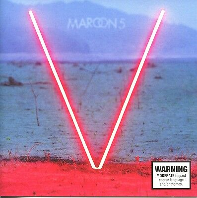 V by Maroon 5 (CD, 2014, Interscope)