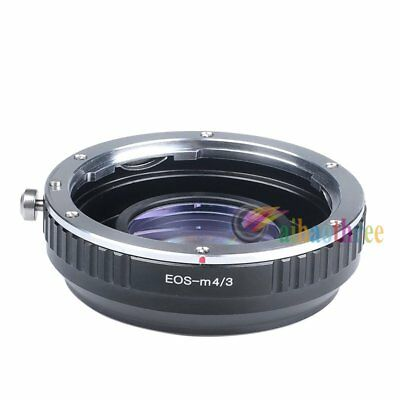 Focal Reducer Speed Booster Canon EF Mount Lens to Micro 4/3 M4/3 Camera Adapter