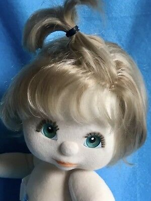 MINTY Top Knot <> Ash Blond <> Aqua Eyes <> SOLD NUDE! REDUCED WAS 169.00!