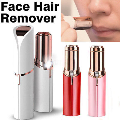 NEW Flawless Women Finishing Touch Painless Face Hair Remover Facial Epilator
