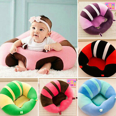 Large Baby Support Seat Soft Chair Car Cushion Sofa Plush Pillow Learning To Sit