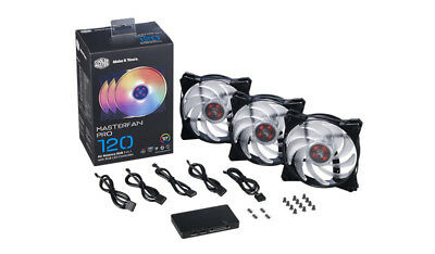 CoolerMaster MasterFan Pro 120 Air Balance RGB 120mm 3er-Pack