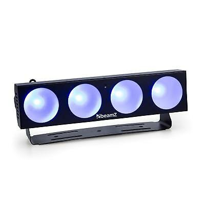 Beamz Led Light Effect 4 X 9 W Automatic Mode Music Sound Activated Dimmer Dj