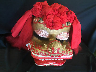 Large Chinese Ceremonial Dragon Head