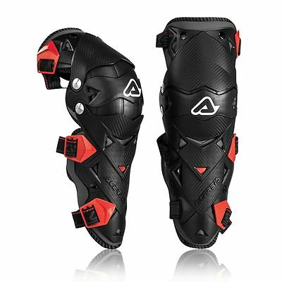 Acerbis Impact Evo 3.0 Hinged Knee Guards Shin Motocross Mx Enduro Cheap Quad