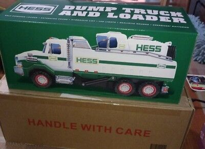Brand New Hess 2017 Dump Truck And Loader In Unopened Box