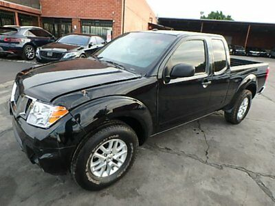 2015 Nissan Frontier SV King Cab 2015 Nissan Frontier King Cab SV Crashed Repairable Nice Project Save on Salvage