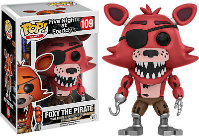 Funko - Pop! Games Five Nights at Freddy's: Foxy the Pirate