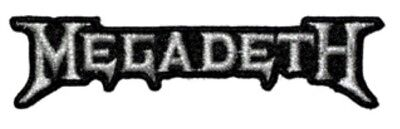 Megadeth Logo Embroidered Patch M016P Metallica Slayer Anthrax Testament