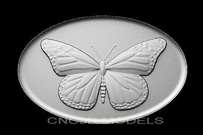 3D Model STL for CNC Router Engraver Carving Artcam Aspire Pano Butterfly v507