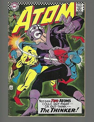Atom #29 1st Solo Golden Age Atom x-over in S.A.