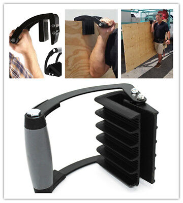 """Panel Carrying Gripper """"Advantage"""" Black Double Injected Soft Grip By Roughneck"""