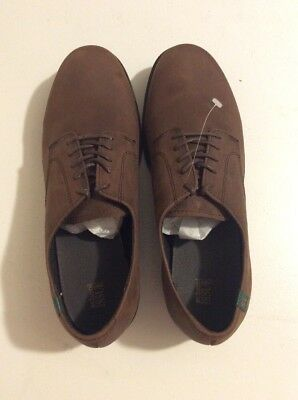 93330f407223 School Issue Semester Brown Chocolate Leather Oxford Shoes Size 9.5 Mens  6200BRM