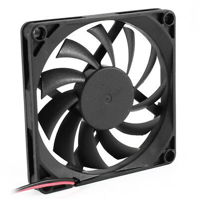 80mm 2 Pin Connector Cooling Fan for Computer Case CPU Cooler Radiator WS U6R6