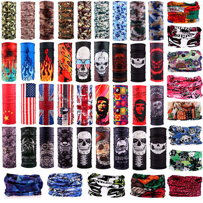 Multi-Colors Schlauchschal Bandana Head Face Mask Neck Gaiter Scarf Headwear