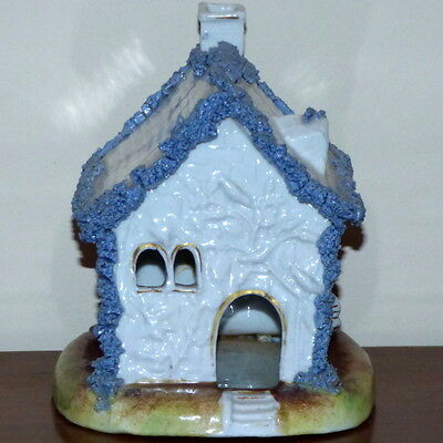 Rare Large 19th Century Victorian Staffordshire Cottage with Beehive