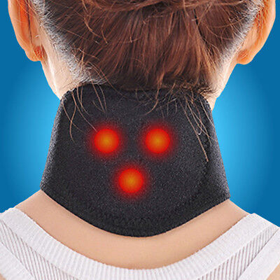 Magnetic Therapy Neck Brace Support Massager Protection Heating Belt Health Hot