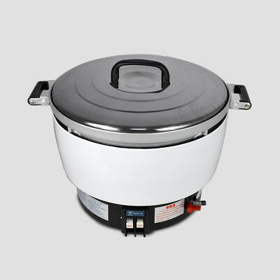 Hot  Commercial Rice Cooker 50 Cups 10L Capacity 2.8KPa New  Natural Gas