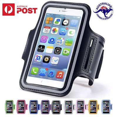 Exercise Sports Gym Running Armband Case for Apple iPhone 5 SE 6 6s 7 Plus 8 X