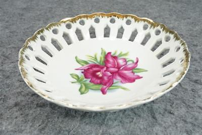 "Napco Hand-Painted 7"" Porcelain Bowl 1M 1574"