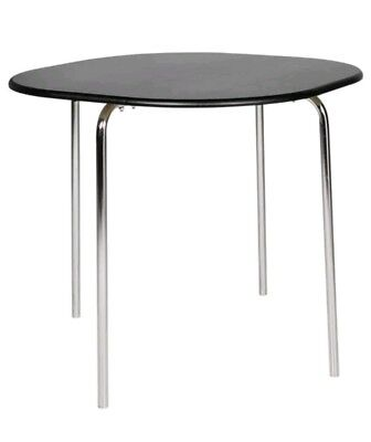 New Amparo Quality Matte Black Finish Dining Table Brand And Boxed