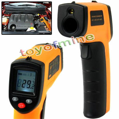 Non-Contact IR Infrared Digital Temperature Temp Thermometer Laser Point Gun