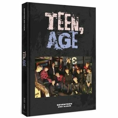 SEVENTEEN 2nd Album TEEN, AGE RS ver.CD+Book+1 Folded POSTER+Card+Standing
