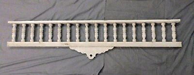 Lrg Antique Victorian Porch Gingerbread Spindle Span Architectural 71x16 610-17P