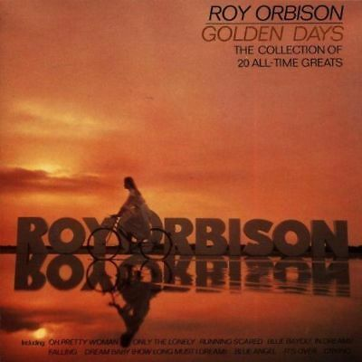Roy Orbison - Golden Days (1998) CD Album: The Collection of 20 All-Time Greats