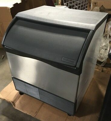 """Scotsman CU3030SW WATER COOLED 30"""" Undercounter Small Cube Ice Machine 310 lb"""