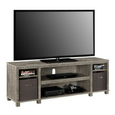 new year sale wood tv stand entertainment center storage media console cad picclick ca. Black Bedroom Furniture Sets. Home Design Ideas