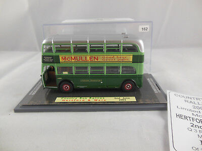"Code 3 Corgi OOC  AEC Q Double Deck London Transport  ""McMullen"" Country Bus"